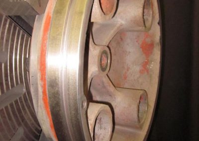 Yarder Air Friction Plate